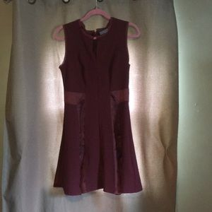 """Simply Vera/ Vera Bradley"" Burgundy dress"